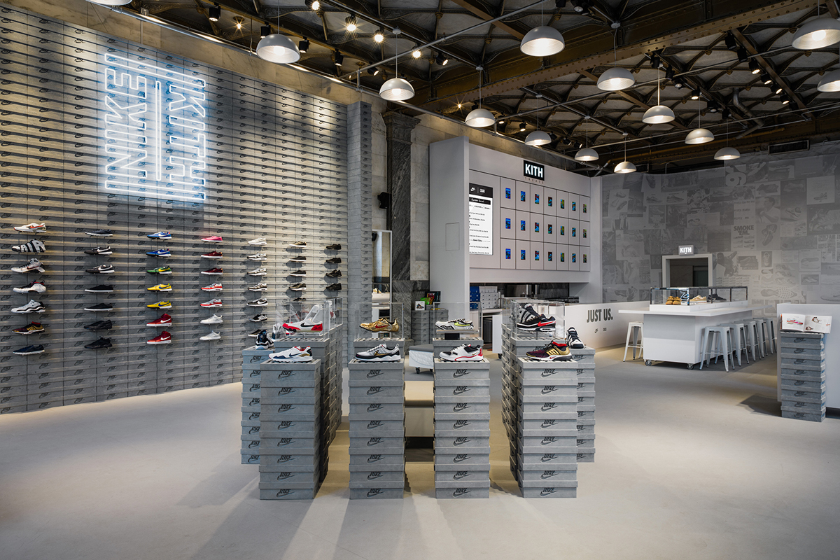 Ronnie Fieg Gives a Tour of New KITH x Nike Pop-Up, Embodying the Process Toward Victory