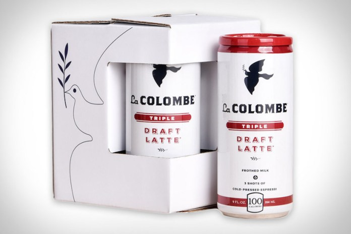 Starting Your Day Fresh With La Colombe's Deluxe Canned Latte