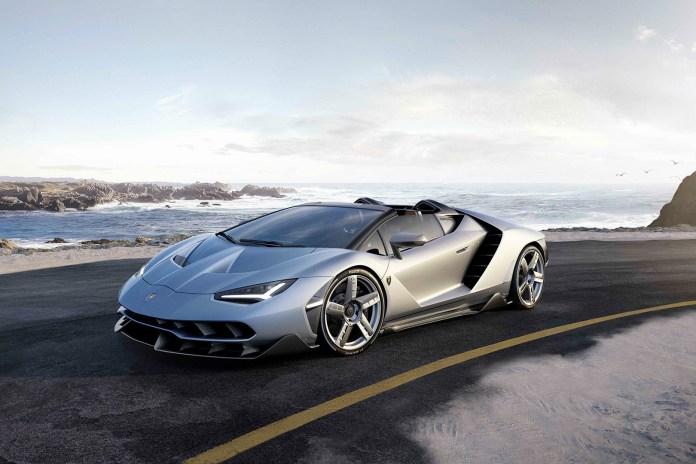Lamborghini Chops off the Hardtop on the New Centenario Roadster