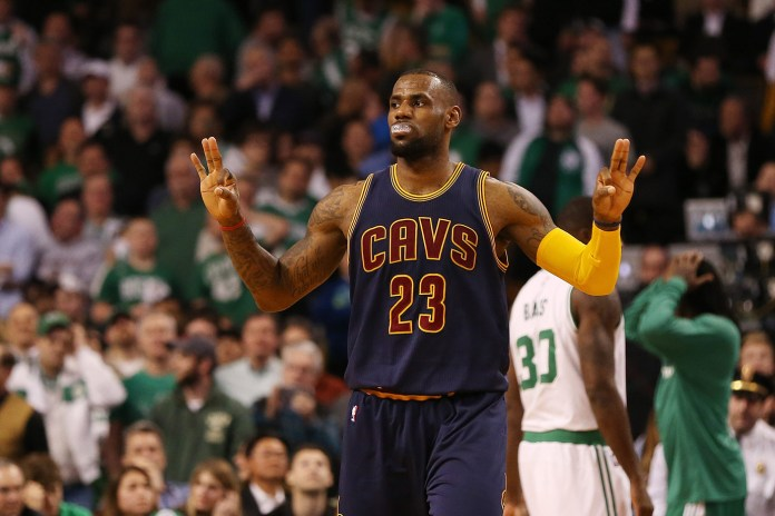 LeBron Signs With the Cavs and Matches Jordan's Record for Single Season Earnings