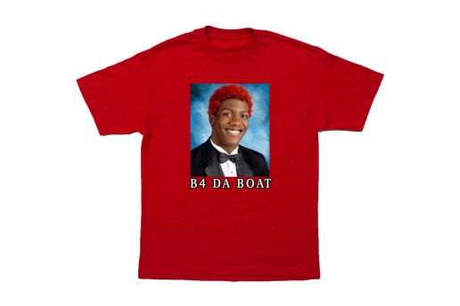 "Lil Yachty Takes a Trip Down Memory Lane With ""B4 DA BOAT"" T-Shirts"
