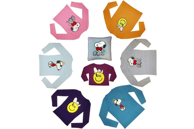 Lucien Pellat-Finet & 'Peanuts' Put Cartoons on Cashmere