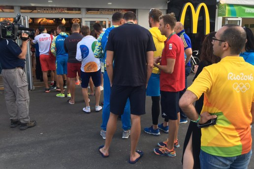 McDonald's Places a Food Order Limit at the Olympic Village