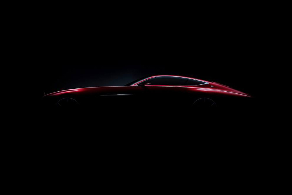 UPDATE: Mercedes-Benz Teases a Brand New Maybach Coupe