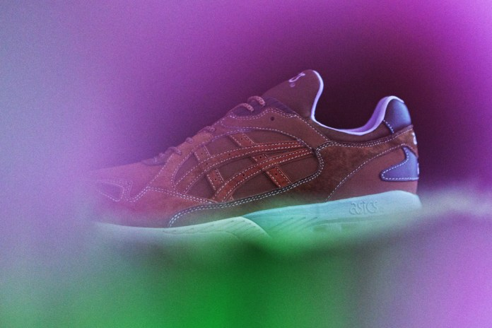 mita sneakers Teams up With ASICS for a Lotus Pond-Inspired GT-COOL XPRESS