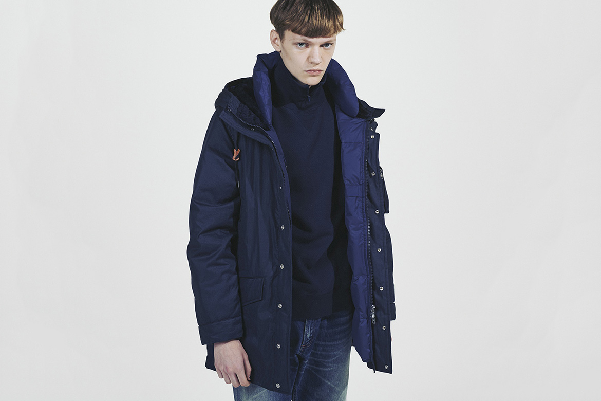 Nanamica Wants to Cocoon You in Cozy Coats and Down Jackets This 2016 Fall/Winter Season