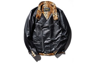 NEIGHBORHOOD Delivers a Leopard Print Leather Jacket
