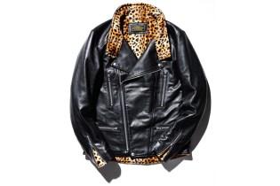 NEIGHBORHOOD Delivers a Leopard Print Leather Jacket