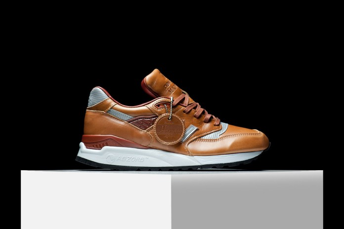 "This New Balance 998 ""Bespoke Horween"" Is a Bomber Jacket for Your Feet"