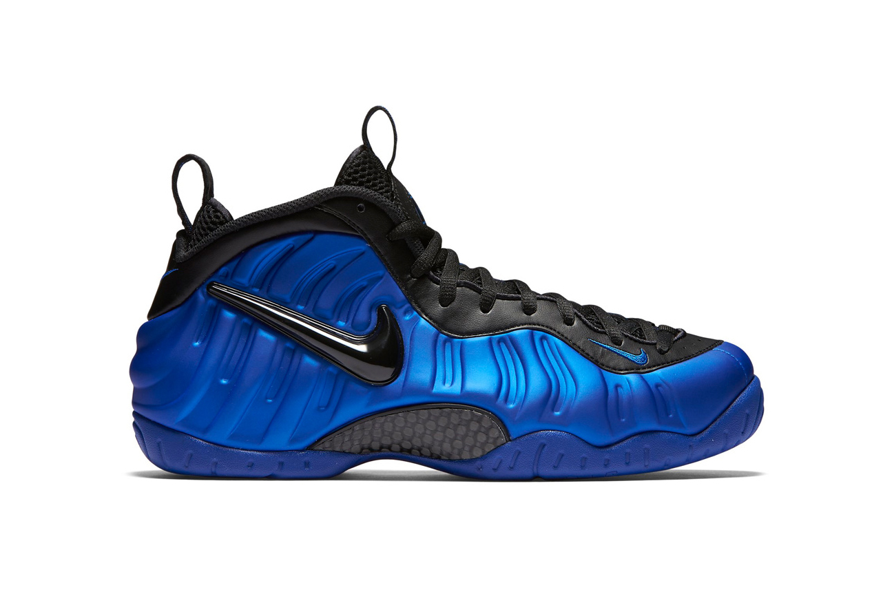 "The Nike Air Foamposite Pro ""Hyper Cobalt"" Is Just Over a Week Away"