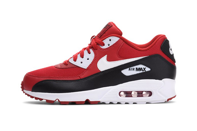 The Nike Air Max 90 Essential Gets Updated in Red, Black & White