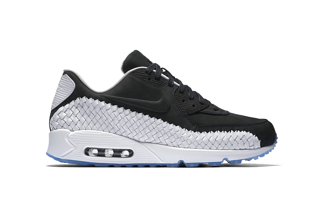air max black and white 90