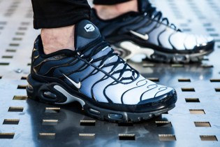 "The Nike Air Max Plus Gets a ""Navy Fade"" Upper"