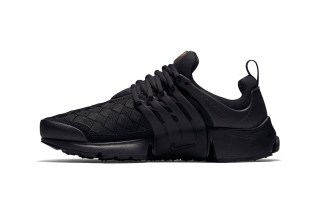 "Nike Air Presto Woven ""Triple Black"""