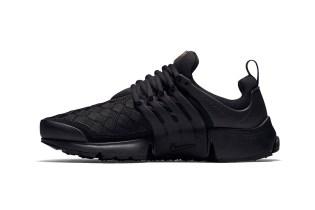 "Nike Air Presto Woven ""Triple Black"""