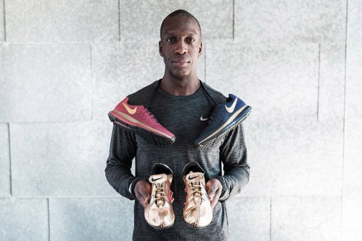 The Swoosh Honors American Olympian Michael Johnson With the Nike Air Zoom Pegasus 33 LE