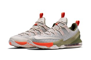Nike Releases a Premium Phantom/Olive Iteration of the LeBron 13 Low