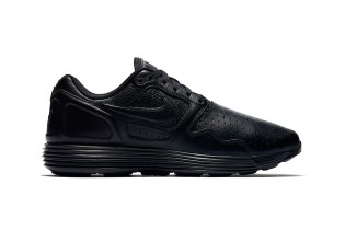 "Nike's Lunar Flow Leather Gets the ""Triple Black"" Makeover"