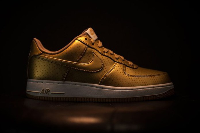 Nike Declares Olympic Fever With Metallic Gold Air Force 1