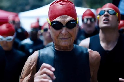 "Nike's ""Unlimited Youth"" Ad Stars 86-Year-Old IRONMAN Athlete ""The Iron Nun"""