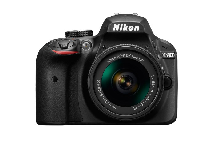 Nikon Introduces Its First Entry-Level Camera, the D3400 DSLR