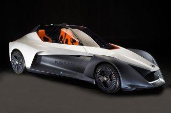 Nissan Shows off a Zero-Emissions BladeGlider Concept in Rio de Janeiro