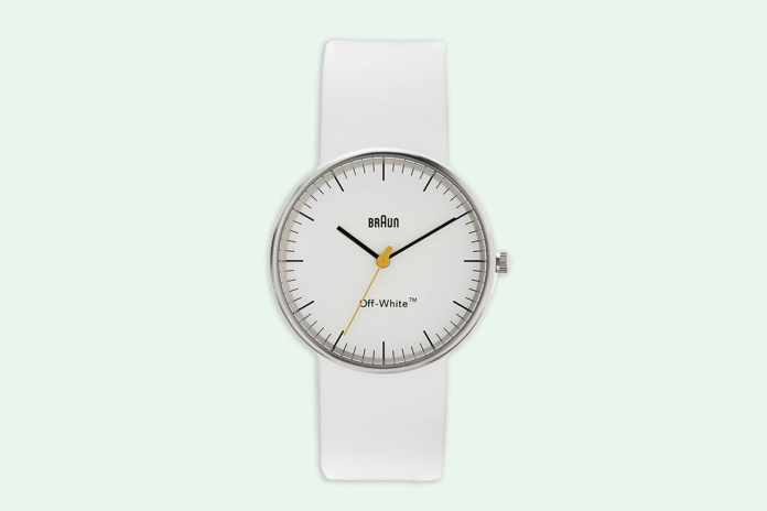 OFF-WHITE & Braun Collaborate on a Minimalist Watch