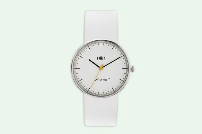 OFF-WHITE & Braun Collaborate on a Minimalist Watch