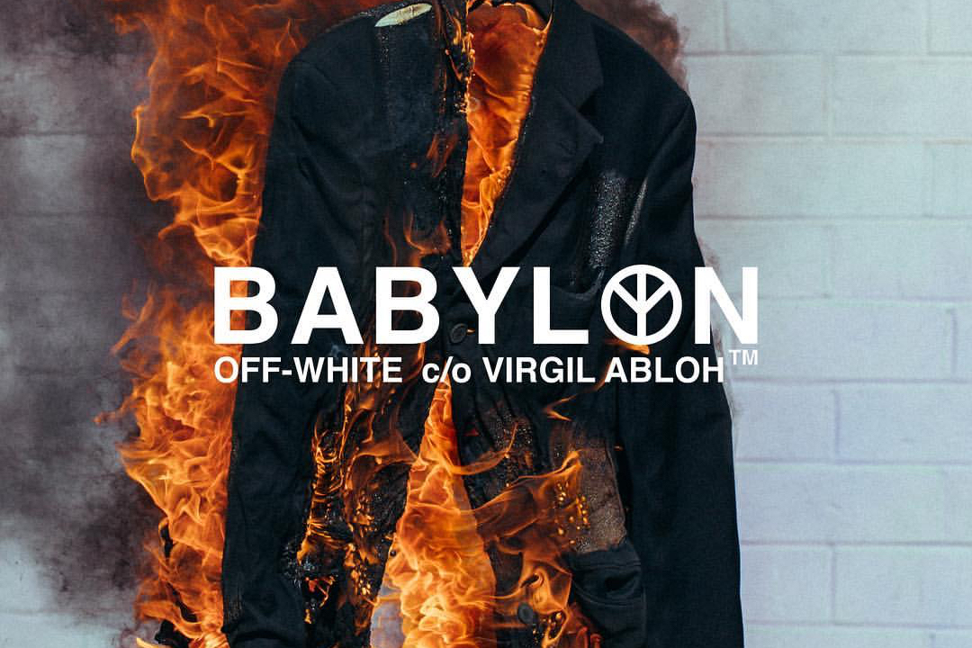 Babylon LA Is Taking Over OFF-WHITE's Tokyo Flagship Next Month