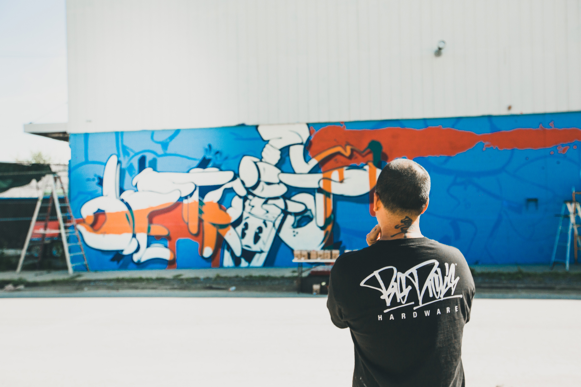 """OG Slick On Designing for Stussy and FUCT & Patenting the LA """"Mickey Hands"""""""