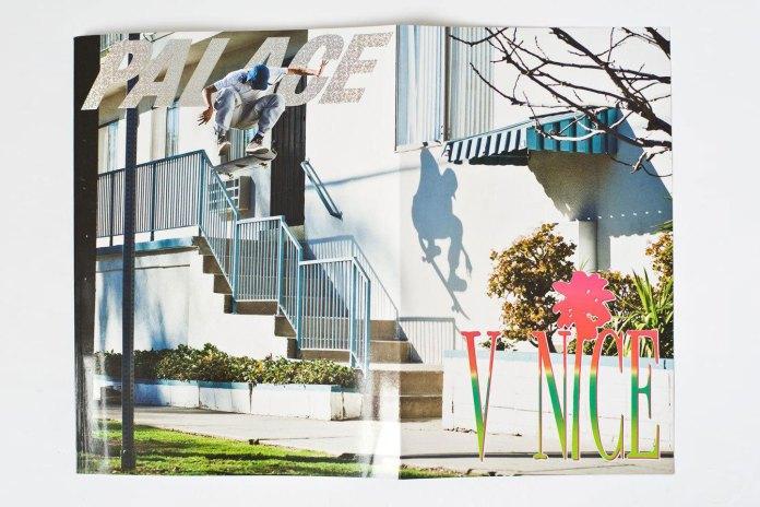 A Look Inside Palace Skateboards' New Magazine