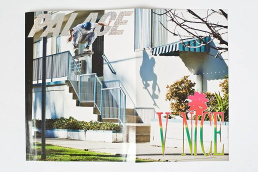 A Look Inside Palace Skateboards' New Magazine