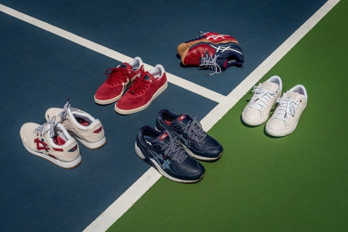 "A Closer Look at the Packer Shoes x ASICS ""Game. Set. Match."" Footwear Collection"