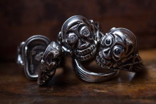 Peanuts & Co. Release a Diamond-Encrusted Skull Poison Ring