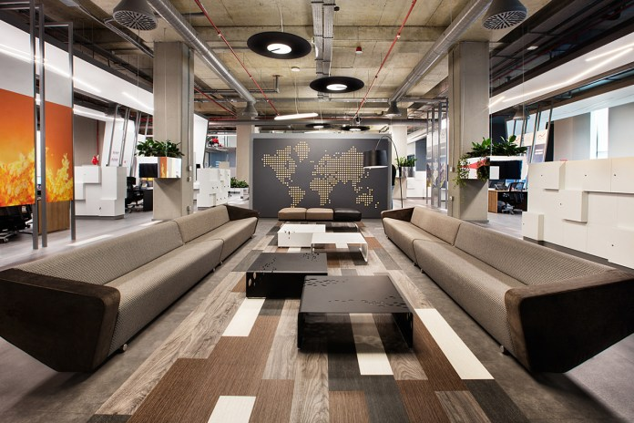Take a Look at Philip Morris's New Futuristic Office in Istanbul
