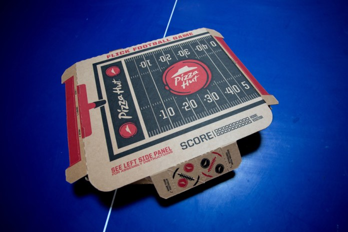 Pizza Hut Wants You to Play With Your Food