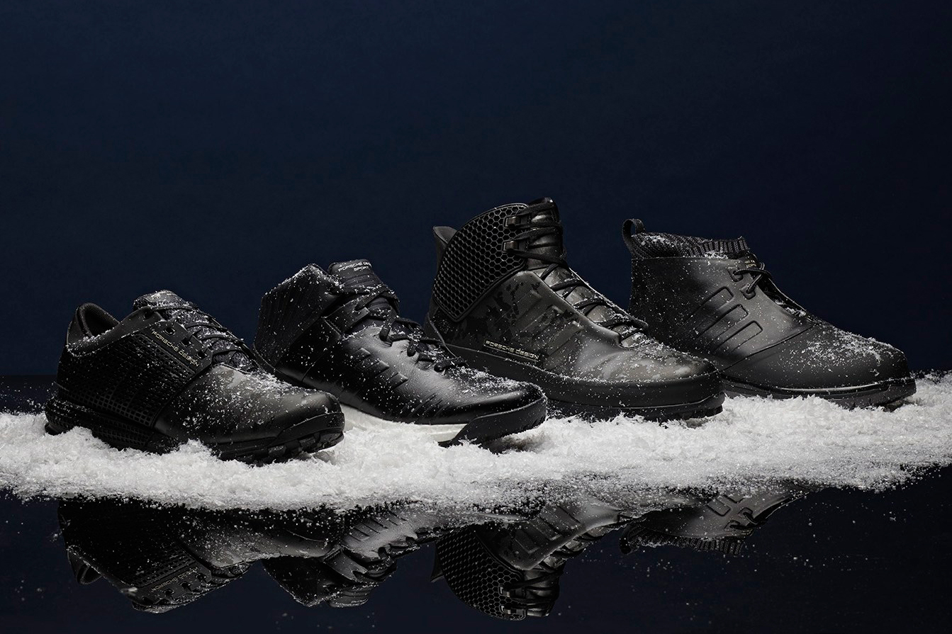 Porsche Design Sport by adidas Offers Footwear Fit for a Spy