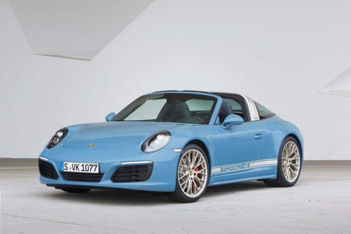 The Porsche 911 Targa 4S Exclusive Design Edition Pays Homage to the Monstrous Mount Etna