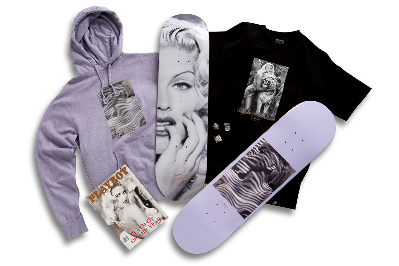 Primitive Skateboarding Releases an Anna Nicole Capsule Collection