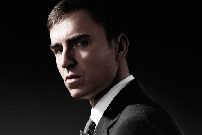 Raf Simons Expected to Be Named Calvin Klein's New Creative Director This Week
