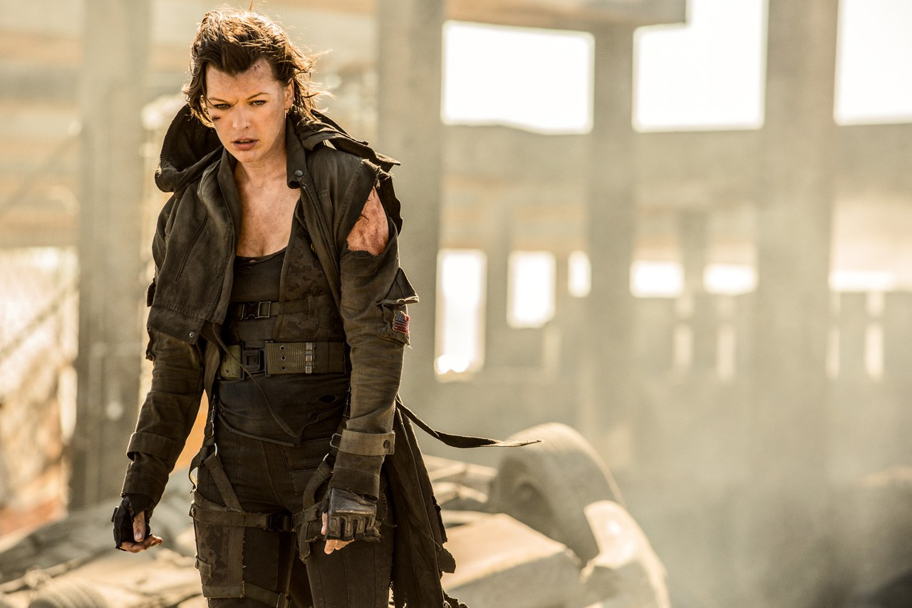 A 'Resident Evil: The Final Chapter' Teaser Trailer Hits Japan