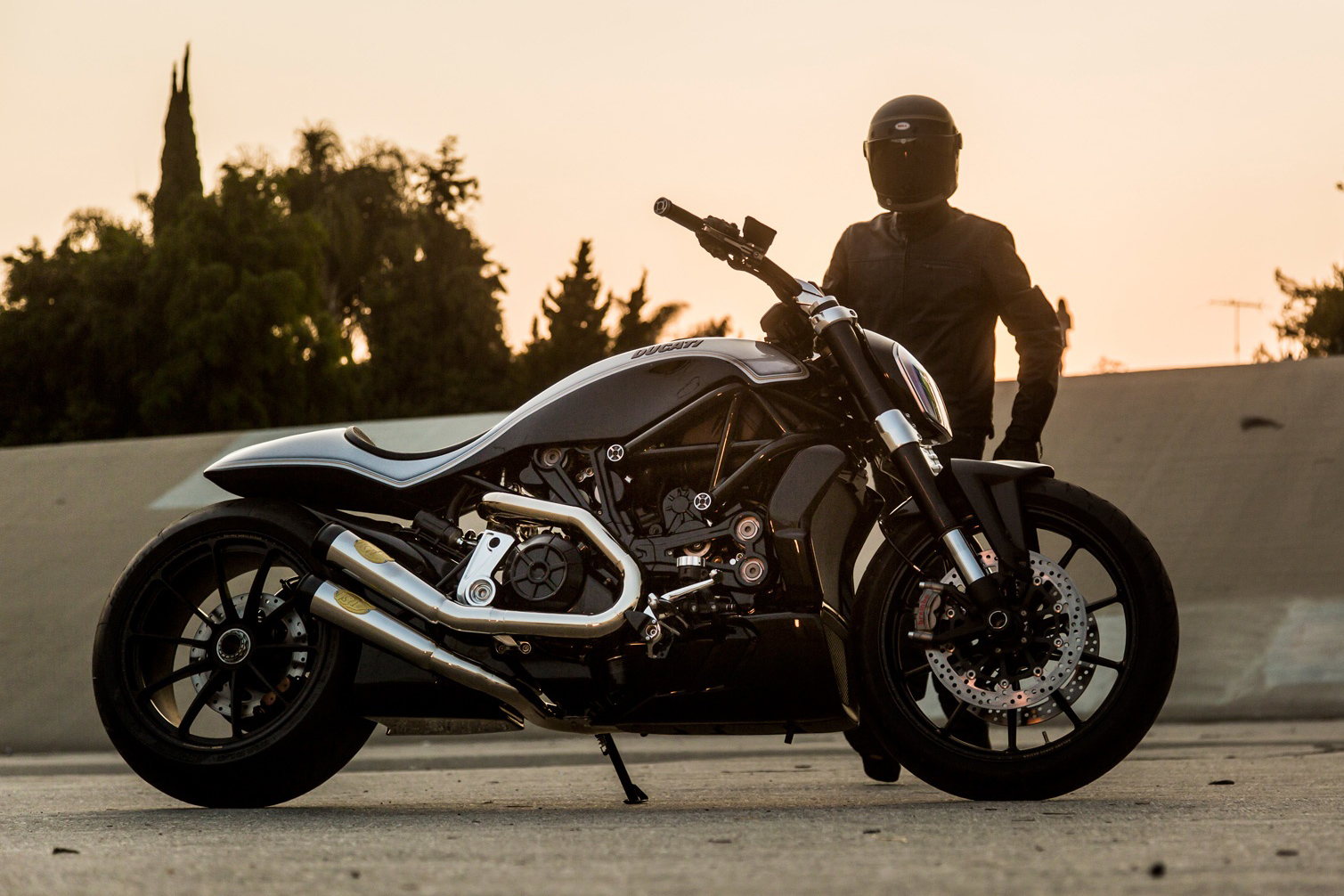 Roland Sands Puts His Spin on the Ducati XDiavel