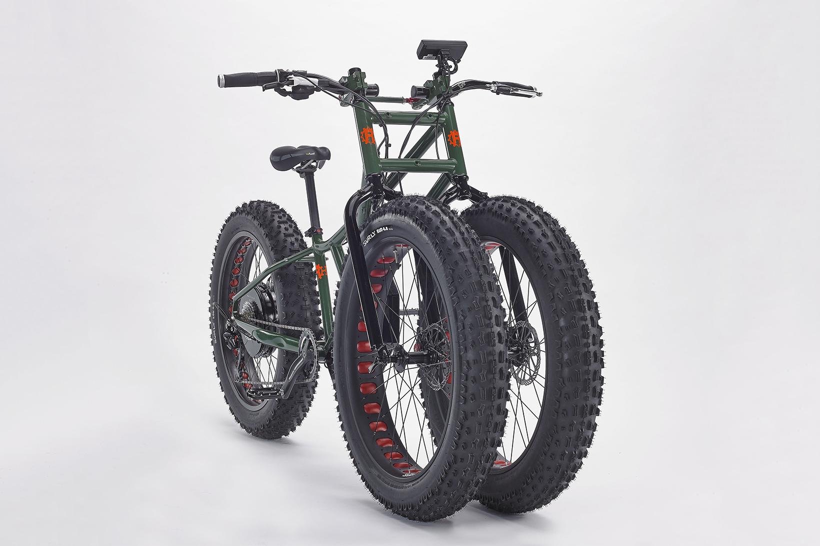 The Big Wheel Is Back: Rungu Introduces Electric Juggernaut Bike