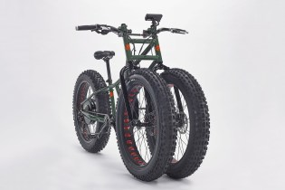 The Big Wheel Is Back: Rungu Introduces Electric Juggernaut Bike