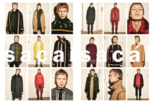 sacai's 2016 Fall/Winter Campaign Gives Us Bite-Sized Looks of the New Collection's Covetable Styles