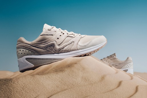 """Saucony's Grid 8000 Sizzles in an Earthy """"Desert"""" Colorway"""