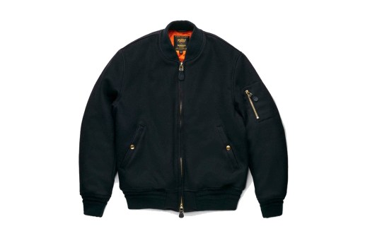 Shinola and Golden Bear Team Up on This Luxe Rendition of an MA-1 Bomber Jacket