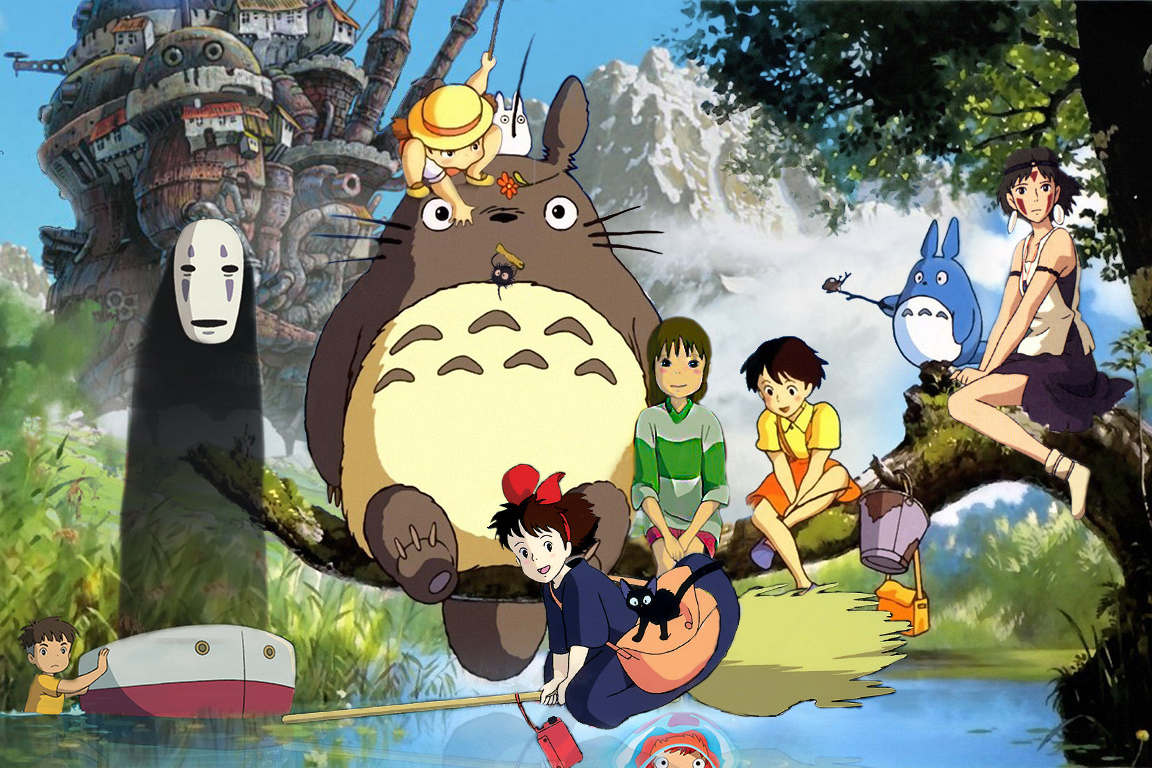 how to say studio ghibli in japanese