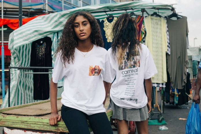 Stüssy and Boiler Room Release Tee for Notting Hill Carnival
