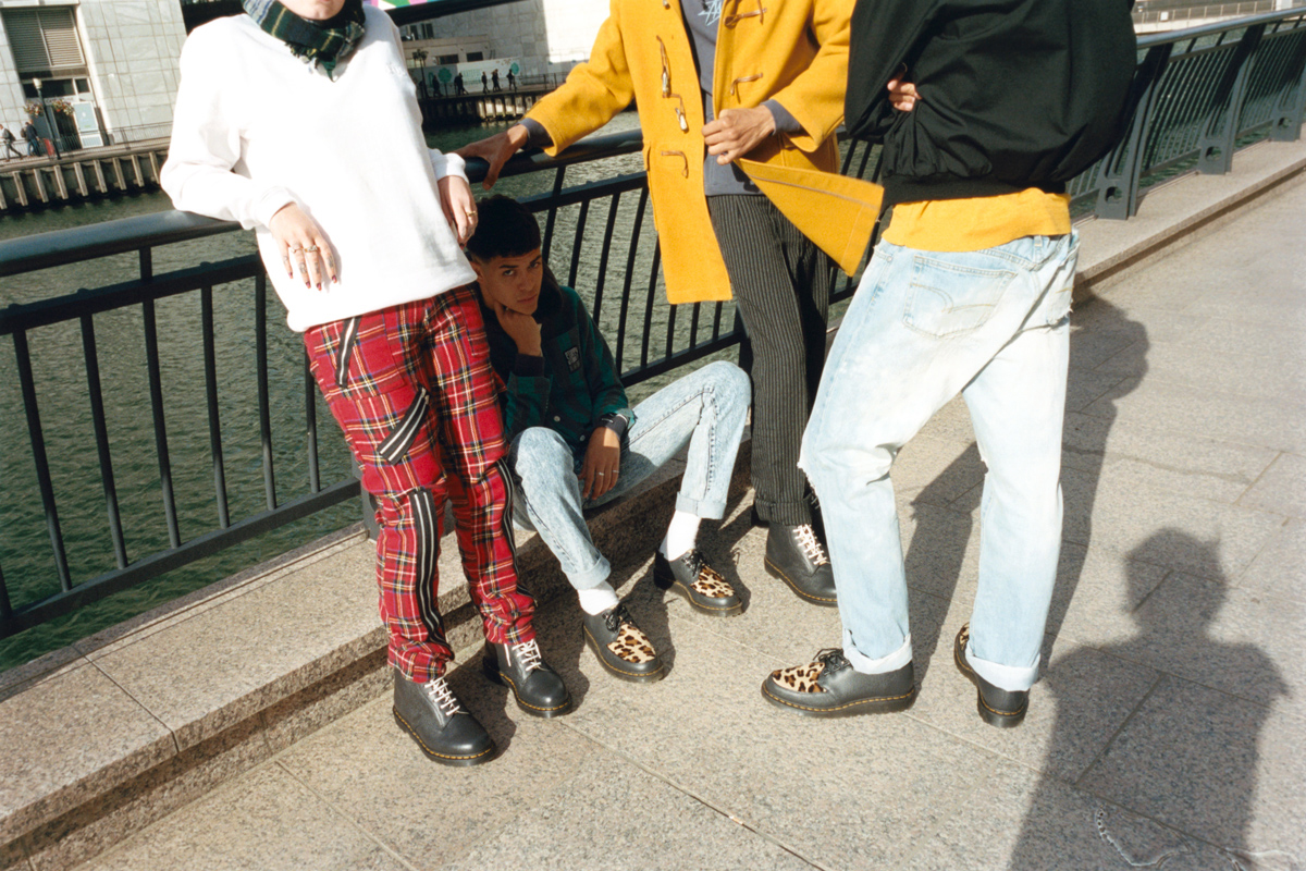 Stüssy Applies Cheetah Print to Dr. Martens Silhouettes